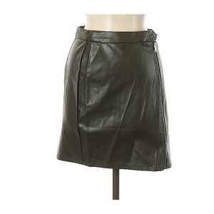 LF Seek the Label Faux Leather Skirt